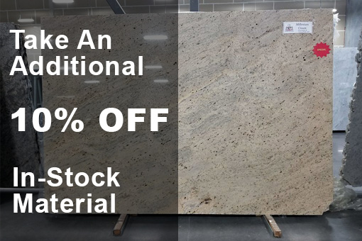 Take 10% Off Countertops at our Texas Store