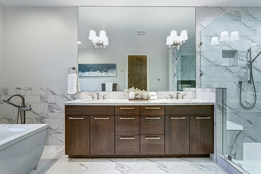 Bathroom countertop remodeling company in Texas