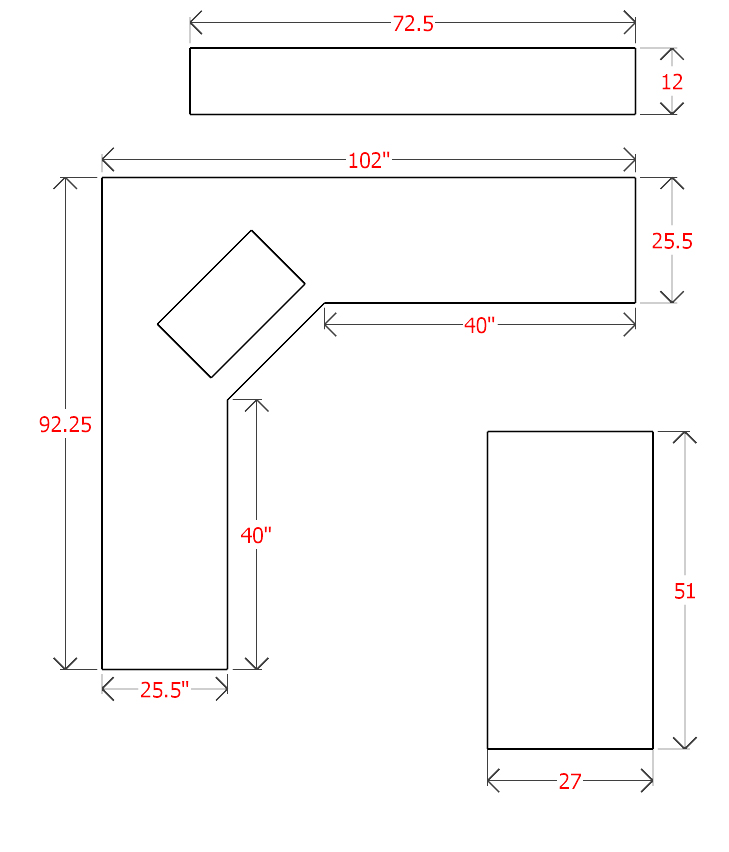 how-to-measure-L-shape-countertops